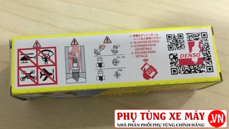 Bugi denso iridium power iu27 cho winner 150 cbr150 moto pkl - 3