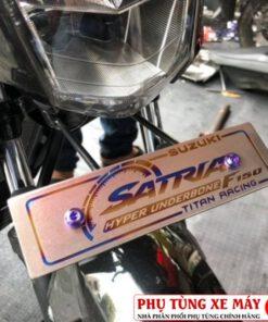 Bảng tên xe Titan loại dày cao cấp cho Vario, Click, Satria, Sonic