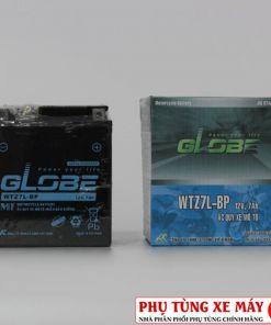 Bình ắc quy GLOBE WTZ7L-BP