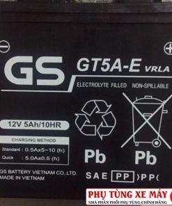 BÌNH ắc quy GS GT5A-E