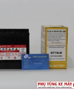 BÌNH ắc quy GS GT7A-H