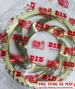 Dĩa tải DID vàng cho Exciter 150