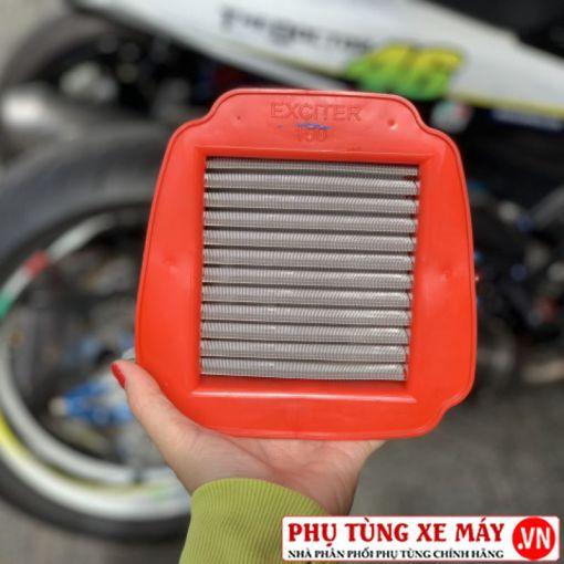 Lọc gió lưới thép độ dành cho Exciter 150