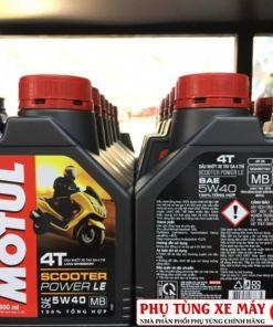 Motul Scooter Power LE 5W40 0.8L