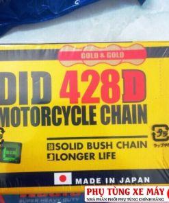 Sên vàng DID 428D 130 mắt (9mm)
