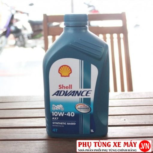 Shell Advance 4T AX7 10W40 Synthetic Based 1L