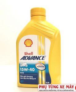 Shell Advance AX5 15W40 0.8L