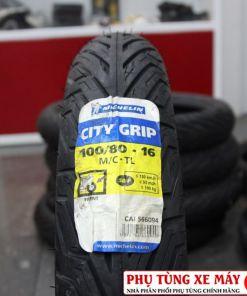 Vỏ Michelin City Grip 100/80-16