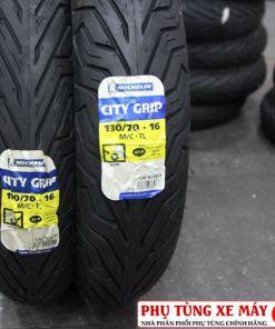 Vỏ Michelin City Grip 110/70-16 và Michelin City Grip 130/70-16