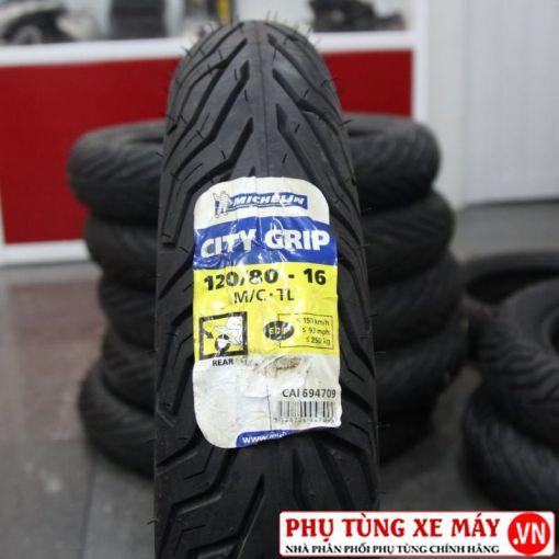 Vỏ Michelin City Grip 120/80-16