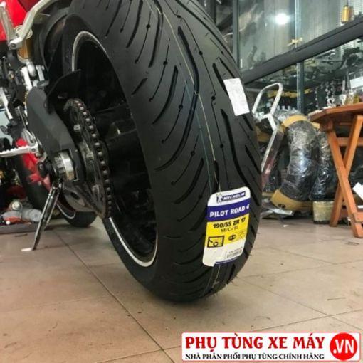 Vỏ Michelin Pilot Road 4 190/55ZR17 cho phân khối lớn