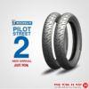 Vỏ xe Michelin Pilot Street - 120/60-17