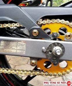 Bộ nhông sên dĩa hợp kim nhôm SSS cho Yamaha Exciter 150 / FZ150i
