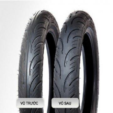 VỎ XE YOKOHAMA S501 TT vỏ trước 70/90 - 17 TT, vỏ sau 80/90 - 17 TT